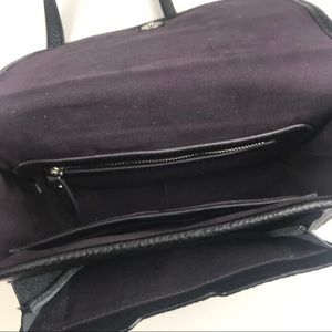 Etienne Aigner Bags - Etienne Aigner Black Leather Crossbody
